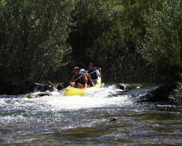 Vízi sportok űzésére a Cetina-folyón van lehetőség.