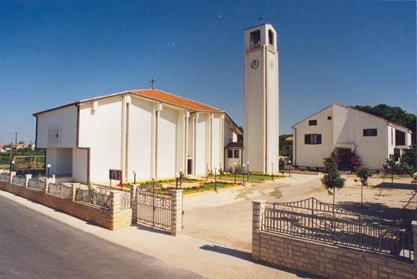 Szűz Mária Mennybemenetele templom, Bibinje
