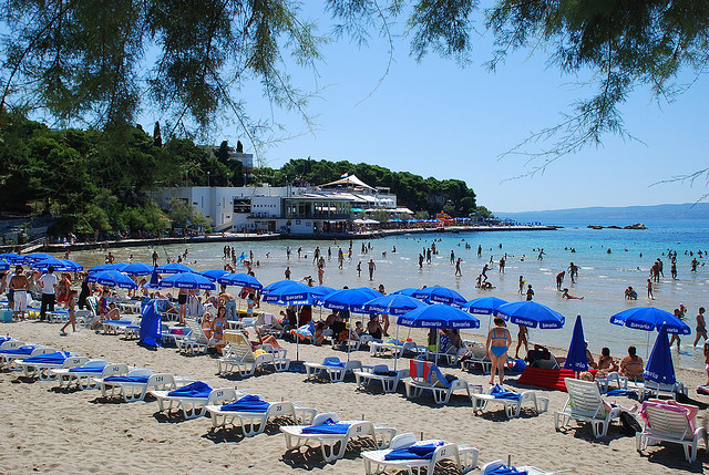 Bačvice strand, Split