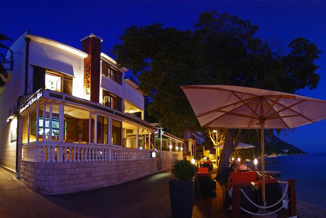 A 3 csillagos Marco Polo Hotel, Gradac