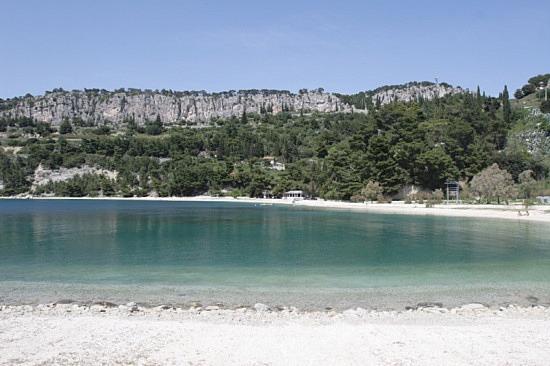 Kasjuni strand, Split
