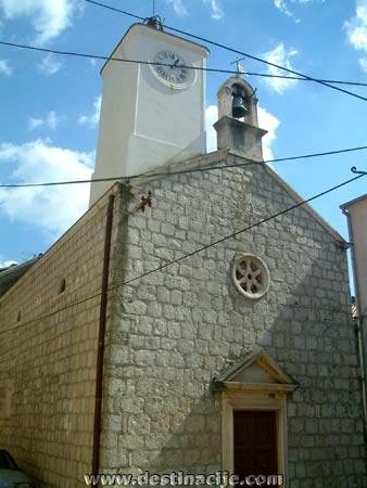 Kármel-hegyi Boldogasszony templom, Trpanj