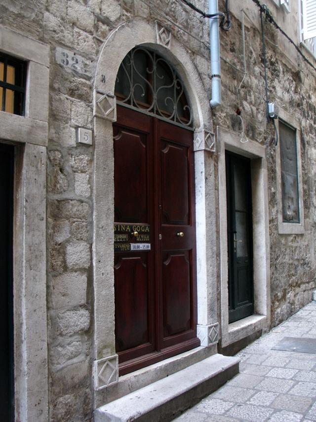 Zsinagóga, Dubrovnik