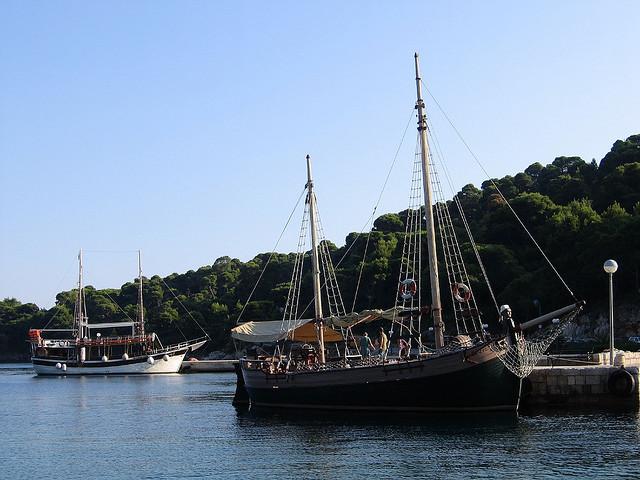 Kikötő, Šipan-sziget