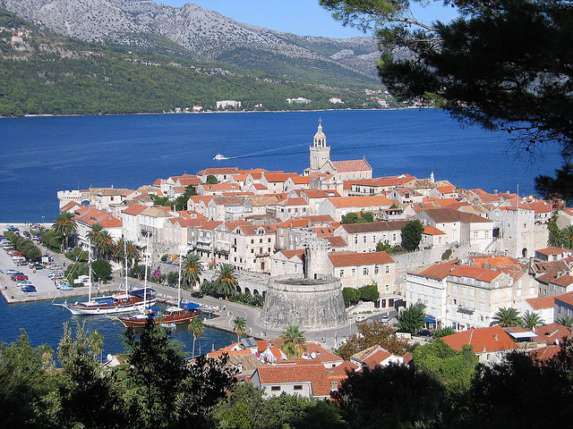 Korcula óvárosa a Horvát Nemzeti Örökség részét képezi.