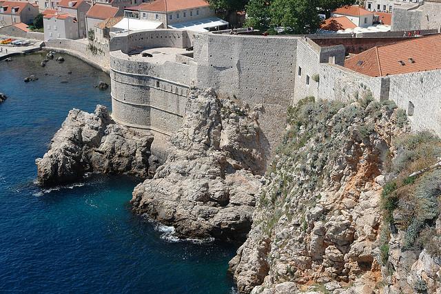 Városfalak, Dubrovnik