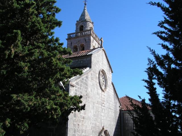 A  Lorettói Szűzanya templom és kolostora, Kuna Peljeska, Peljesac-félsziget