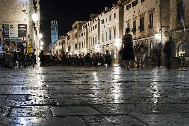 A Stradun este, Dubrovnik