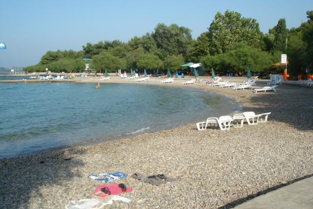 Kék strand (Plava Plaža), Vodice