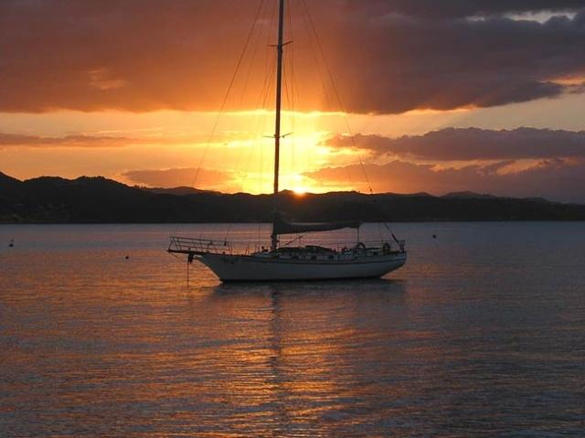 A hajósok is kedvelik a Pasman-szigetvilágot.