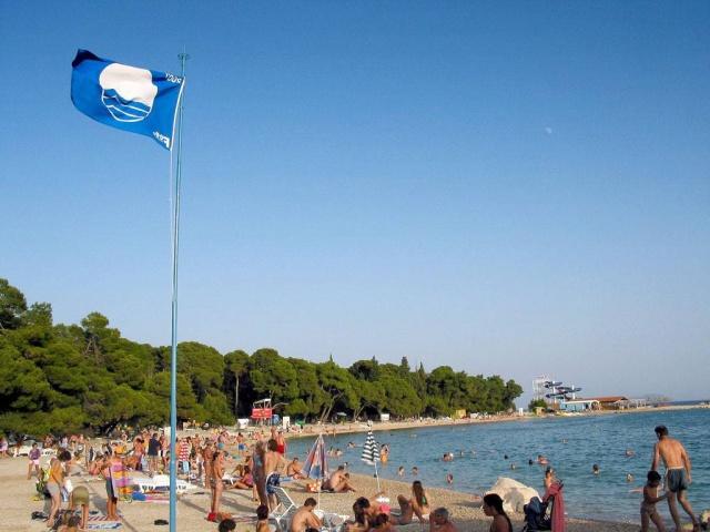 Biograd legnépszerűbb strandja a Drazica strand.