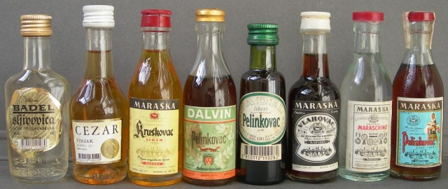 A Hvar-sziget nem csak híres borairól ismert, hanem  más alkoholos italairól is.