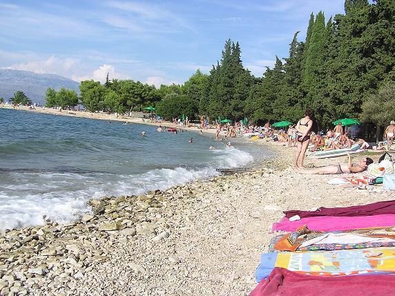 Strand, Supetar