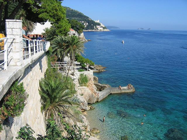 Szent Jakab (Sv. Jakov) strand, Dubrovnik