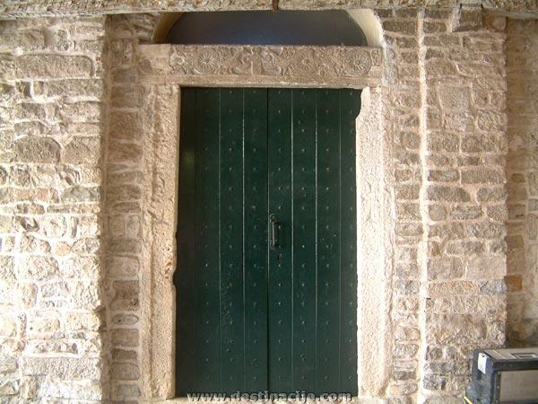 Szent Borbála kápolna (Crkva Sv. Barbare), Trogir