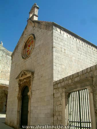 Angyali üdvözlet templom, Dubrovnik