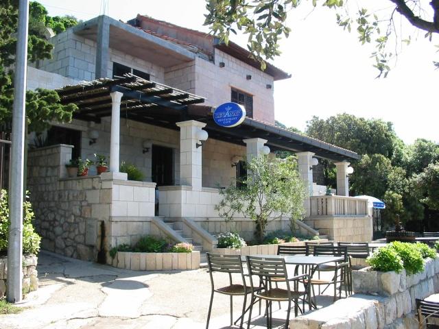 Levanat étterem a Lapad-félszigeten, Dubrovnik