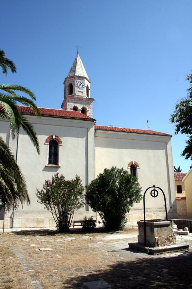Szent Anasztázia-plébániatemplom, Biograd na Moru
