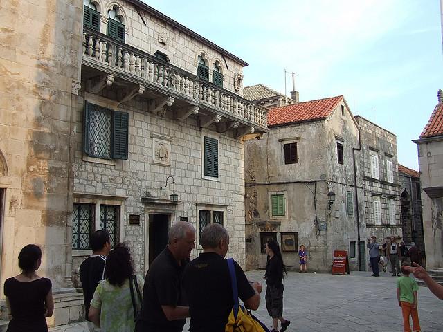 A Püspöki Kincstárnak két épület ad otthont a Szent Márk téren.
