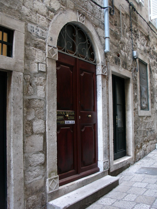 Zsinagga, Dubrovnik