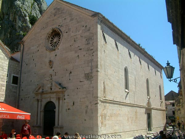 Szent Mihály (Sv. Mihovil) templom, Omis