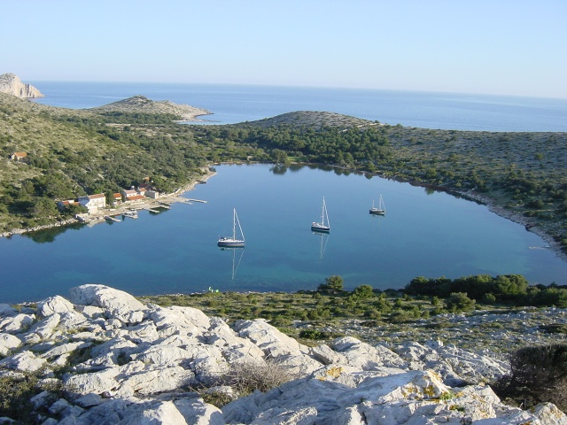 Lavsa-öböl, Kornati Nemzeti Park