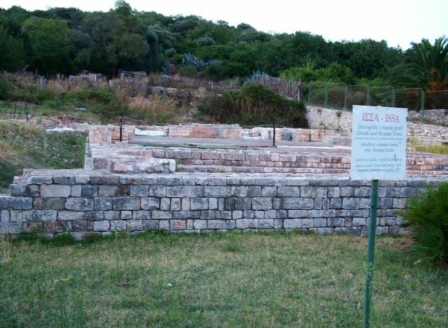 Az ókori Issa romjai.