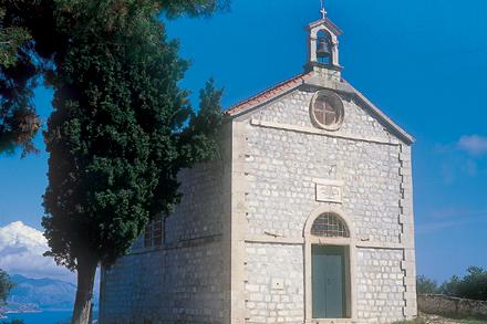Szent Balázs fogadalmi templom Gorica-ban.