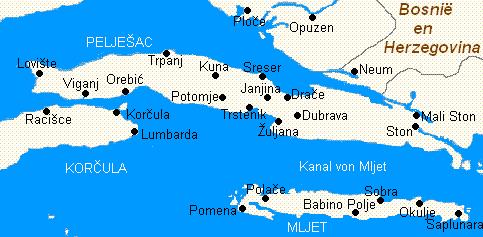 Peljesac-félsziget