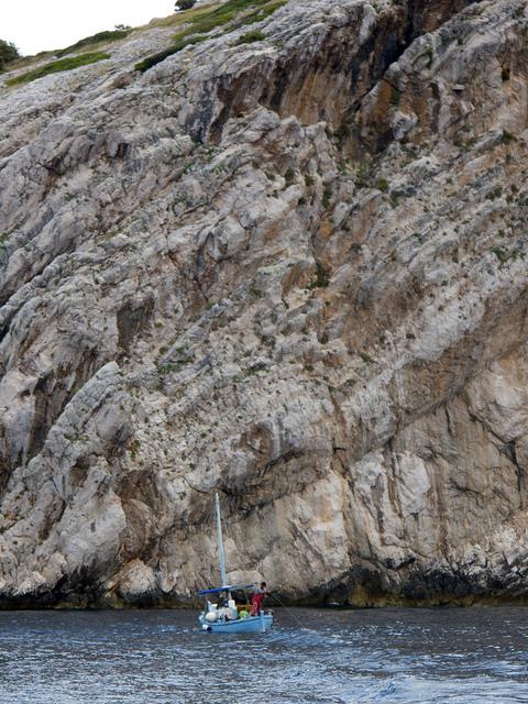 Hajóval a Kornati Nemzeti Parkban
