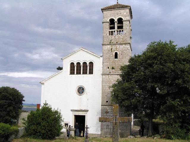 Szent Tamás (Sv. Toma) plébániatemplom, Tkon