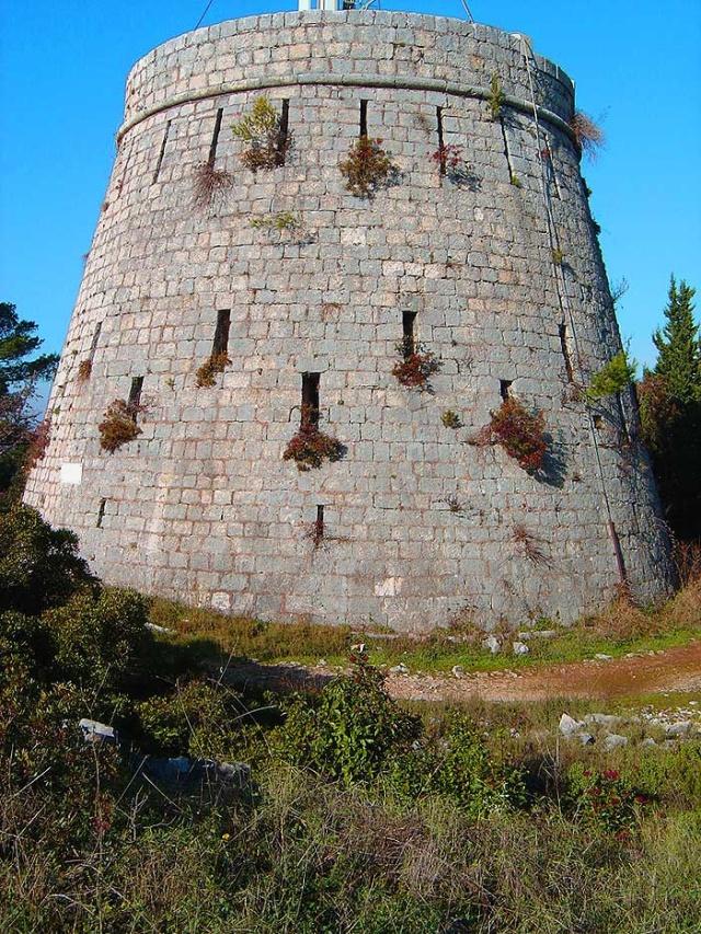 A Forteca egy erődítmény, melyet az angolok építettek 1803-ban.