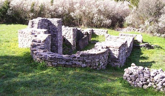 Az egykori Szent János templom, Telascica Természeti Park