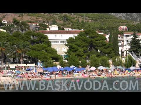 Baska Voda - Baška Voda promenád