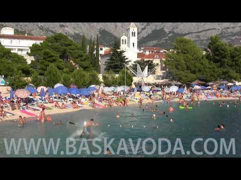 Baska Voda - Baška Voda strandjai
